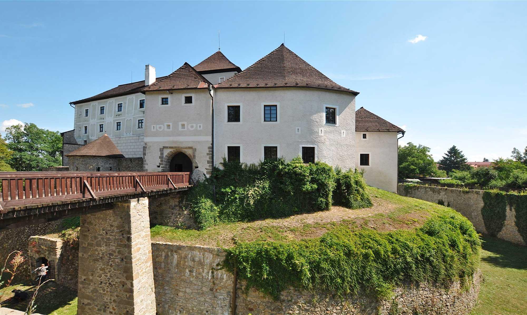 Hrad Nové Hrady - Burg Gratzen