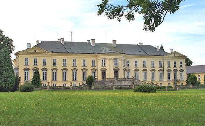 Das Neue Schloss in Gratzen