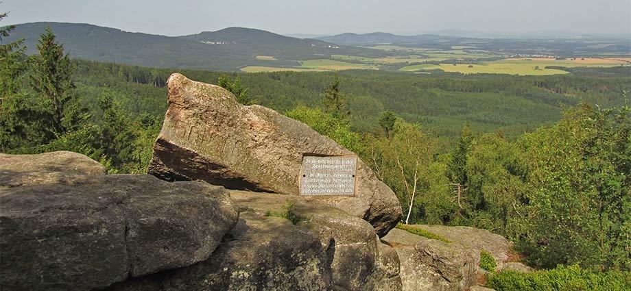 Gipfel des Mandelsteins