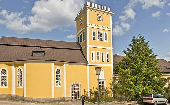 Schloss von Bad Großpertholz