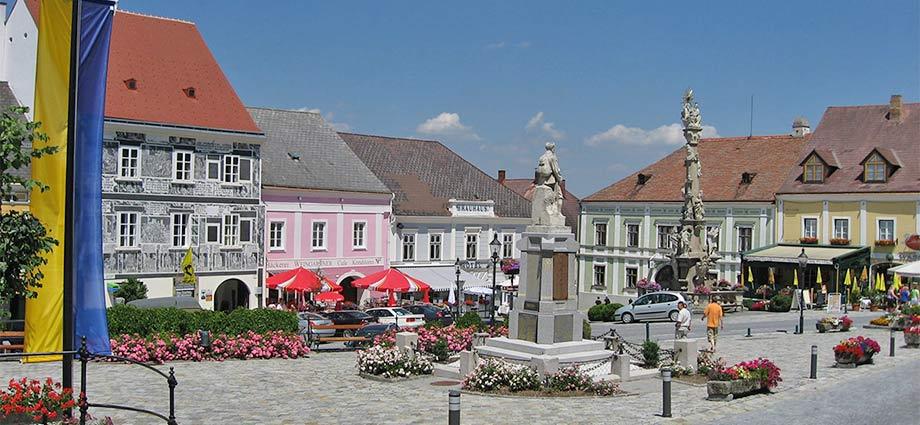 Rathausplatz in Weitra
