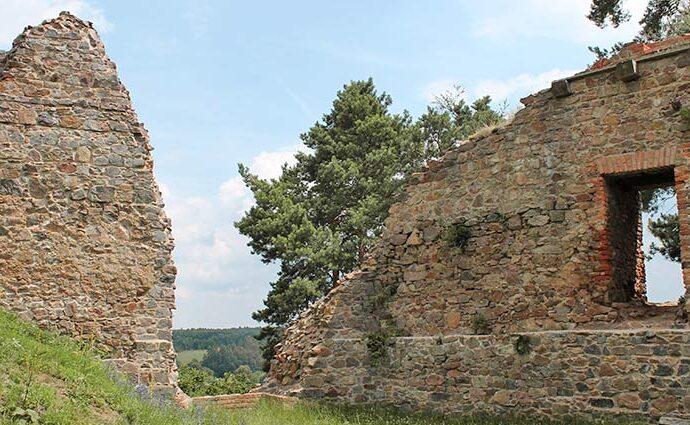 Die Ruine der Burg Žumberk