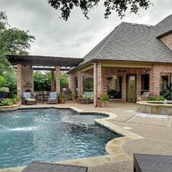 Ferienhaus mit Schwimbad